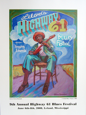 9th Annual Honeyboy Edwards Poster